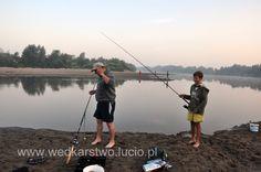 Fishing on San river