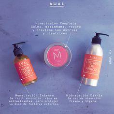Conoce nuestras 3 opciones diferentes de cremas humectante,  tenemos para cada gusto en ahal.mx