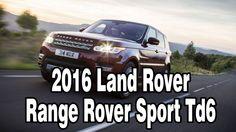 2016 Land Rover Range Rover Sport Td6 Diesel Turbocharged Engine Perform...