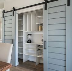 Plantation Design Interior Sliding Barn Door