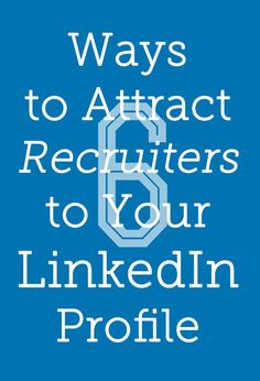 Make sure your LinkedIn account is getting the right eyes on your work. #career Career Tips