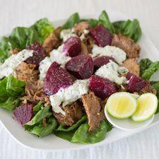Greek Lamb Salad Wine Recipes, Cobb Salad, Lamb, Greek, Food, Greek Language, Eten, Greece, Meals