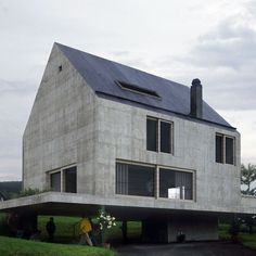 House in Leymen, Haut-Rhin, France, Herzog & de Meuron :: 1996-1997 Katy SEPTSAULT