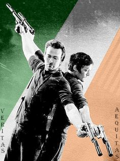 Sean Patrick Flannery and Norman Reedus - Boondock Saints