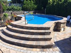 Having a pool sounds awesome especially if you are working with the best backyard pool landscaping ideas there is. How you design a proper backyard with a pool matters. Small Backyard Pools, Backyard Pool Landscaping, Backyard Pool Designs, Small Pools, Outdoor Pool, Above Ground Swimming Pools, Swimming Pools Backyard, Pool Decks, In Ground Pools