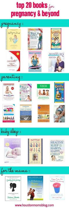 Top 20 books for pregnancy and beyond. Great books for new moms and veteran moms. Best pregnancy, parenting, baby sleep, and mama books! Great list! #site:pregnancypillow.site