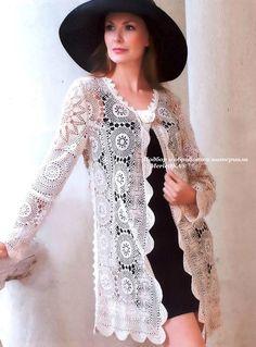 Crochet - una gran colección de vestidos exquisitos (Brujas, de encaje irlandés y rumano). Debate sobre LiveInternet - Servicio Ruso diario en línea