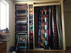 Horse blanket closet