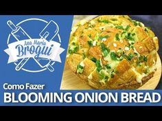 Ana Maria Brogui #196 - Como fazer Blooming Onion Bread - YouTube