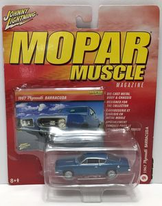 (TAS033861) - 2005 Johnny Lightning Mopar Muscle 1967 Plymouth Barracuda