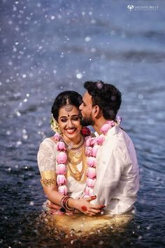 This Couple Got Drenched in Water After Pheras for a Fun & Sensuous Shoot! Indian Wedding Couple Photography, Wedding Couple Photos, Wedding Photography Poses, Wedding Couples, Pre Wedding Shoot Ideas, Pre Wedding Photoshoot, Photoshoot Ideas, Kerala Bride, Post Wedding