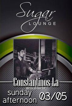 Sugar Lounge - DJ Constantinos La | Verialife