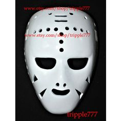 Hockey mask, Hockey goalie, NHL ice hockey, Roller Hockey, Hockey goalie mask, Hockey helmet Gary Bromley mask HO42