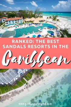 Sandals Resort Tips | A rated list of the best Sandals resorts in the Caribbean. The best all inclusive locations from Jamaica to Bahamas, Barbados, Antigua, Grenada and more. From picture-perfect beaches, crystal clear oceans, amazing restaurants, bars — the list goes on! | Getting Stamped - Couple #Travel & #Photography #Blog | #Caribbean #Honeymoon #SandalsResorts | Jamaica | Bahamas | Antigua | Grenada | Restaurants | Bars | Beaches | Sandals Wedding Resort Sandals All Inclusive Resorts, Bahamas Resorts, Bahamas Honeymoon, Honeymoon Tips, Honeymoon Destinations, Affordable Honeymoon, Romantic Destinations, Romantic Vacations, Romantic Getaways