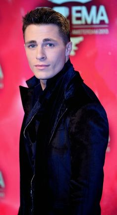 Colton Haynes on the 2013 EMA Red Carpet