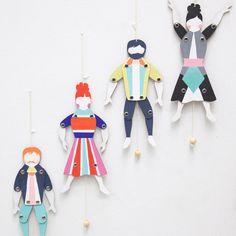 Sprattelgubbe Marionettes