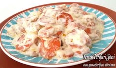 Potato Salad, Potatoes, Pasta, Chicken, Meat, Ethnic Recipes, Food, Eten, Potato