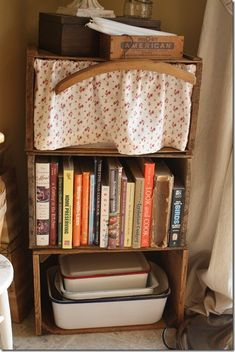 decorating with apple crates   apple crate kitchen shelf