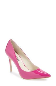 BCBGeneration 'Treasure' Pointy Toe Pump (Women) available at #Nordstrom color: nude blush size 7.5