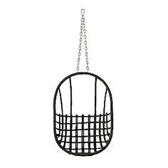 Egg Chair, Zwart, medium