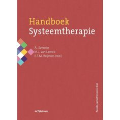Handboek systeemtherapie.