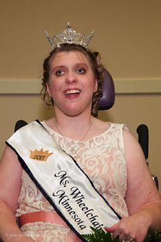 Ms. Wheelchair Minnesota 2013 is Crissa Knott!!