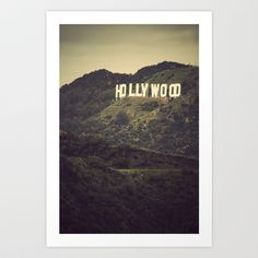 Old Hollywood Art Print by CMcDonald - $18.00