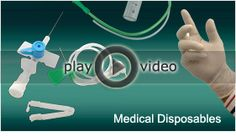 Manufacturer & Suppliers of Disposable Medical Products, Medical Disposables, Disposable Medical Supply, Instruments and Supplies like I.V. Cannulae, i v set, Nelaton (Jacques) Catheters - Disposable (P.V.C.), Suction Catheters and other disposable medical products
