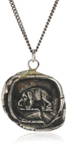 Pyrrha %22talisman%22 Sterling Silver Elephant Necklace