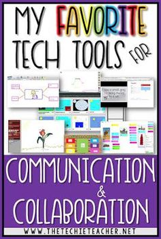 Come learn about my FAVORITE technology tools for digital communication and collaboration with elementary students. Use these tools with Chromebooks, laptops, computers and some can even be used with iPads. Global learning is making its way into the class
