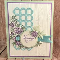 Card Using Climbing Roses for Hand Stamped Sentiments Beautiful Spring Card Featuring Climbing Roses by Stampin' Up!Beautiful Spring Card Featuring Climbing Roses by Stampin' Up! Birthday Greetings For Women, Birthday Cards For Women, Climbing Roses, Rock Climbing, Birthday Crafts, Birthday Recipes, Birthday Ideas, Friend Birthday, Birthday Bash