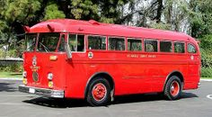 1958 Crown Supercoach (A-590-11) purpose-built for the Los Angeles County Fire Department.....