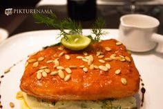 Lehsun Chutney marinated Red snapper fillet with spiced beans Red Snapper Fillet, All Restaurants, Smokehouse, New Menu, Food Reviews, Kolkata, Chutney, Salmon Burgers, Deli