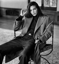 Ad Campaign: Ralph Lauren - The Icons Collection - 2016 Model: Vittoria Ceretti, Margaret Qualley, Stella Tennant, Jacquetta Wheeler, Frederikke Sofie, Fei Fei Sun, Jean Campbell, Alicia Burke, Lulu, Cameron Russell Photographer: Steven Meisel Fashion Editor: Karl Templer Hair: Guido Palau Make Up: Pat McGrath