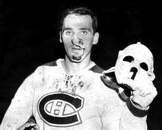 Jacques Plante   Montreal Canadiens   NHL   Hockey