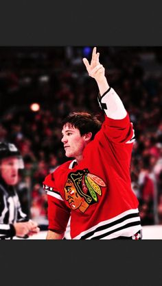 Shawzy saluting the crowd after a fight.