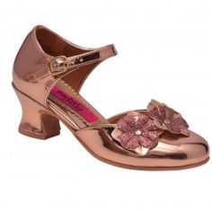 810322f37096 New Arrival Dresses   Outfits - Sophia s Style. Low Heel ShoesLow HeelsShoes  HeelsGlitter Flowers5 KidsGirls ...