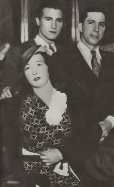 """Carlos Gardel e Isabelita del Valle, """"la eterna novia de Gardel""""."""