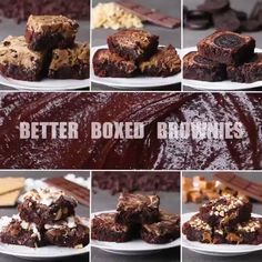 "Daily Diy❤️💛😍 on Twitter: ""Here's 6 ways to upgrade regular boxed brownies By Tasty… """