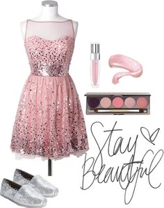 """""""Stay Beautiful"""" by lillyrenee on Polyvore"""