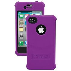 Trident Purple Perseus Silicone Case for Apple iPhone 4/4S