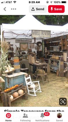 Simple Treasures from the Past – Antiques & Primitive Goods Show ~ SPRING 2011 ~ Flea Market Displays, Flea Market Booth, Store Displays, Flea Markets, Retail Displays, Jewelry Displays, Merchandising Displays, Stall Display, Craft Booth Displays