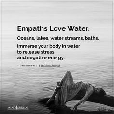 Empath Traits, Intuitive Empath, Negative Energy Quotes, Wisdom Quotes, Quotes To Live By, Water Quotes, Soul Ties, How To Read People, Infj Personality
