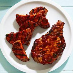 Pork Chops and Cola Sauce #myplate #pork #grill