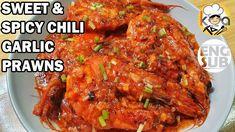 MABILIS LUTUIN AT NAPAKASARAP NA RECIPE SA SUGPO/HIPON! (FT SWEET & SPICY CHILI GARLIC PRAWN/SHRIMP) - YouTube Spicy Chili, Sweet Chili, Sweet And Spicy, Garlic Prawns, Garlic Sauce, Filipino Recipes, Filipino Food, Prawn Shrimp, Ketchup