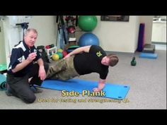 """Dr Craig Libenson teaching Chad Waterbury how to improve his QL muscle and mentions the """"Baby Get Up"""" Psoas Release, Muscle Imbalance, Tight Hip Flexors, Psoas Muscle, Tight Hips, Physical Therapy, Get Up, Training Programs, Preschool Crafts"""