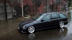German e36 touring on BBS RF wheels