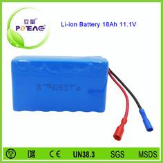11.1V 18Ah lithium ion battery for Golf trolley Welcome customize the one you need.