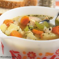 Gooseberry Patch Recipes: Chill-Chaser Chicken Soup