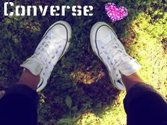 I could wear my converse everyday and never get tired of them!